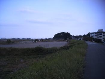 安倍川河川敷